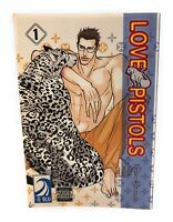 Love Pistols Vol 1 Tarako Kotobuki Yaoi English Manga book RARE graphic novel