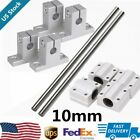 Dia Bearing Slide 10mm 500mm 600mm+ Linear Shaft Optical Axis Rod Rail Support