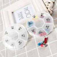 7 Tage Tablette Pille Box Medizin Sorter Pillendosen Pillenkasten Tablettenbox