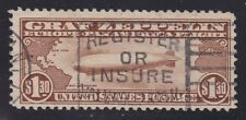 US C14 $1.30 Graf Zeppelin Airmail Used VF