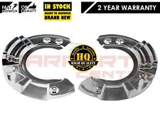 FOR BMW SERIES 5 6 7 F10 F07 FRONT BRAKE DISC DISCS DUST COVER SHIELD SET NEW