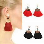 C Fashion Women Bohemian Earring Vintage Long Tassel Fringe Boho Dangle Earrings