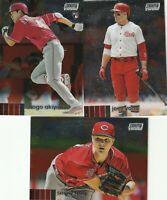 20 Stadium Club Chrome Joey Votto Shogo Akiyama Sonny Gray Cincinnati Reds