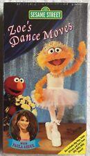 Sesame Street - Zoe's Dance Moves (NEW SEALED VHS) w/ Paula Abdul RARE HTF