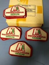 22 Merschman Seeds Agriculture Farming Cloth Jacket Patch New NOS 1980s