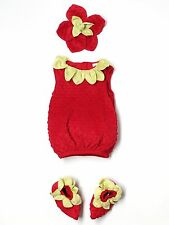 Baby Toddler Girl Gymboree Strawberry Halloween Costume Size 18/24 Months Twins