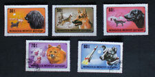 Dogs Used Mongolian Stamps