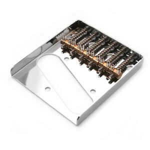 6 String Fixed Guitar  Metal Hardtail Bridges Compatible with A6C2