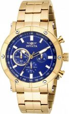 wachawant: Invicta 18162 Specialty 46mm Blue Dial Chronograph Men's Watch