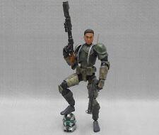 "Custom 1/18 Microman DLX Clone Commander Gree Kashyyyk Star wars 4"" Figure"