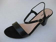 Azura Womens Shoes $120 NEW Avezzano Black Snake Sandal 40 9