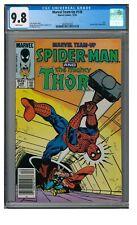 Marvel Team-Up #148 (1984) Spiderman & Thor Newsstand CGC 9.8 LK825