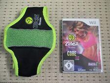 Zumba Fitness Core incl. cintura per Nintendo Wii e Wii U * OVP *