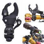 Bicycle Bike Cycling Flashlight Torch Light Mount Holder Clip Clamp 360° Swivel