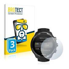 Suunto 9 , 3 x  BROTECT® AirGlass® Premium Glass Screen Protector
