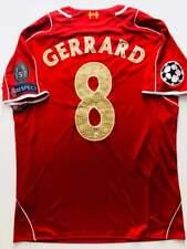 2014/15 Warrior Liverpool FC #8 Gerrard Champions League Home Jersey LEGEND