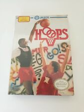NES Jaleco HOOPS 1999 New Factory Sealed for Nintendo Entertainment System