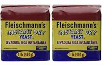 Fleischmann's Kosher Instant Dry Yeast Bread Baking agent - 2lb