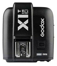UK STOCK GODOX X1T-C TTL 2.4G Flash Trigger 1/8000s HSS Transmitter For Canon