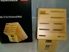 35101-922 Zwilling 10 Slot Hardwood Block