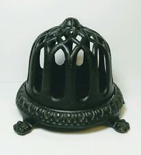 TERRIFIC VINTAGE CAST IRON STRING TWINE HOLDER DISPENSER WALL OR  SURFACE MOUNT