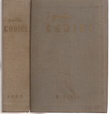 I quattro codici  a cura di Dante Scarella 5° ed 1958 5961