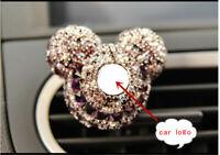 Car Air Freshener Logo Clip Minnie Mouse Diamond