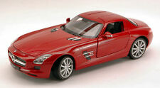 Mercedes-benz SLS AMG 2009 Red 1 24 Model 4244 Welly