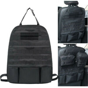 Tactical Molle Pouch Car Seat Organizer Panel Stock Car Sun Visor Storage Bag