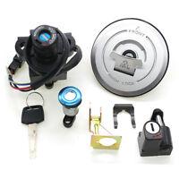 Ignition Switch Fuel Gas Cap Seat Lock Key Set For Honda CBR250 2011-2013 2012