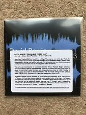 David Bowie - Sound and Vision 2013 - promo CD