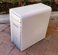 Sony Vaio Pcv-Rs620G Tower Pc Intel P4 3Ghz 2Gb Ram 160Gb Windows Xp