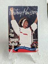 WHITNEY HOUSTON Star Spangled Banner cassette tape single - patriotic NEW