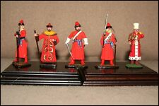 Toy Miniature Metal Soldiers in Red Uniforms, Make Unknown, Great Detail