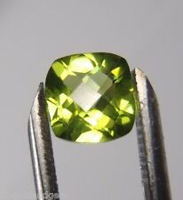 NATURAL PERIDOT 1.37ct AMAZING FIRE!! TOP COLOR!! Wholesale Loose Gemstone