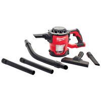 Milwaukee 0882-20 18-Volt M18 Lithium-ion Cordless Compact Vacuum - Bare Tool