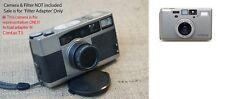 Contax T3 camera filter adapter } UV Red Yello Polarizer Polarizing ND IR ect