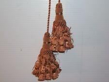 """Lee Jofa """"Empress"""" chair ties cord and 5"""" double tassels various colors"""