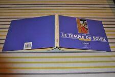 """Tintin le temple du soleil 1ère édition """"à l'italienne"""" 1988"""