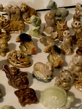 Wade Red Rose Figurines Lot Of 60 Vintage Mix