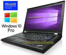 IBM LENOVO THINKPAD T420 LAPTOP i5 2.50ghz 8GB 128GB SSD DVDRW Windows 10 Pro PC