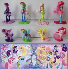SERIE COMPLETA MY LITTLE PONY (FS292 - FS299) + 8 BPZ GERMANIA KINDER 2015/2016