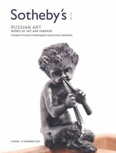 Sotheby's Catalogue  Russian Art WOA and Fabergé 27/11/2007 HB