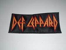 DEF LEPPARD EMBROIDERED PATCH