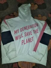 Girls Fleece Hoodie Jumper Age 12-13 Years