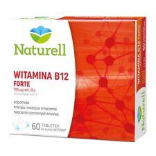 WITAMINA B12 forte Naturell 60 tabl.do ssania KREW odporność usuwa zmęczenie