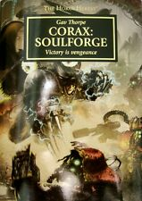 Warhammer 40K Black Library Limited Edition Horus Heresy-Corax:Soulforge