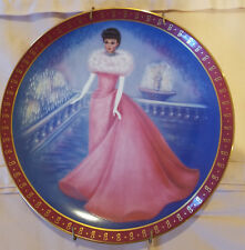 The 1960 Barbie Enchanted Evening Limited Edition Plate The Danbury Mint 1990