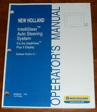 New Holland IntelliSteer Auto Steering System Version 21 Operators Manual