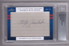 2012 Leaf Sports Icons Stan Covaleski Cut Auto Autograph #1/4